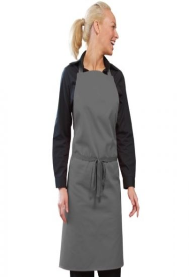 Bib aprons with adj halter - no pocket
