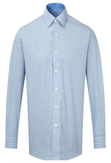 Men's long sleeve stripe shirt