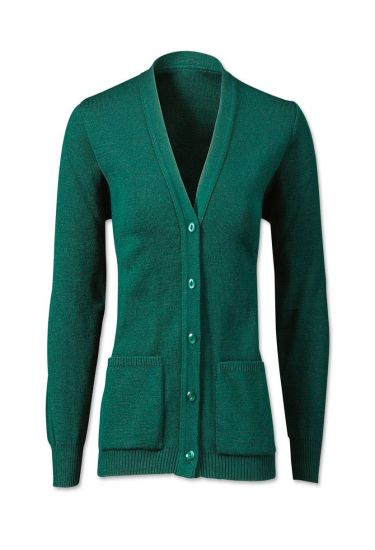 Women's easycare cardigan with pockets