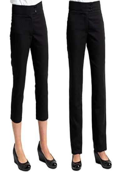 Cropped Length Ladies Trousers