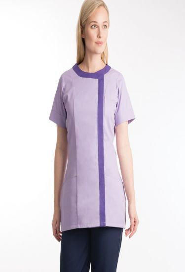 Women's asymmetric tunic (NF 191)