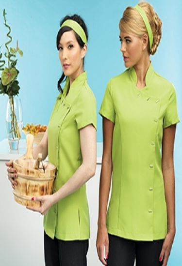 Orchid beauty or healthcare tunic