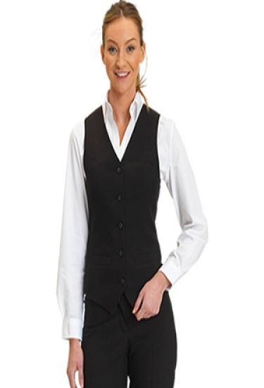 Women's polyester waistcoat (DS 13)