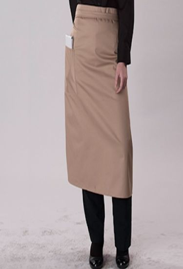 Bistro apron wth pocket in 15 colours