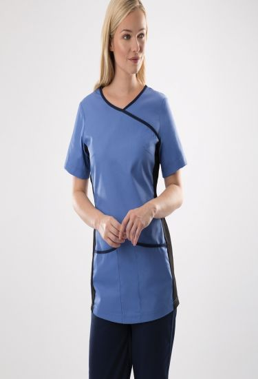 Women's stretch scrub top (NF 43)