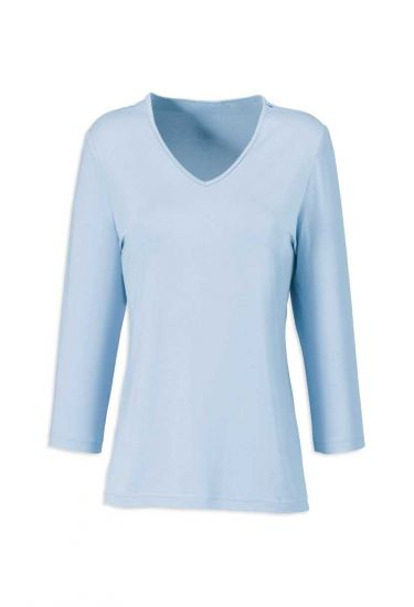 Women's ¾ sleeved jersey top
