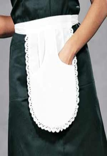 Waitress apron with pocket