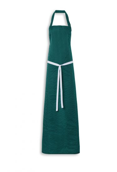 Twin striped bib apron regular