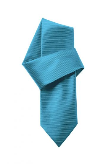 Machine washable woven tie