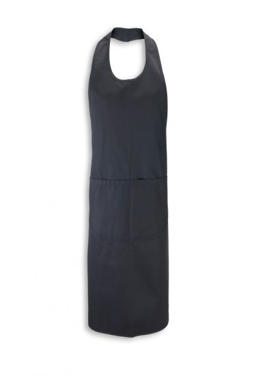 Contemporary cut bib apron