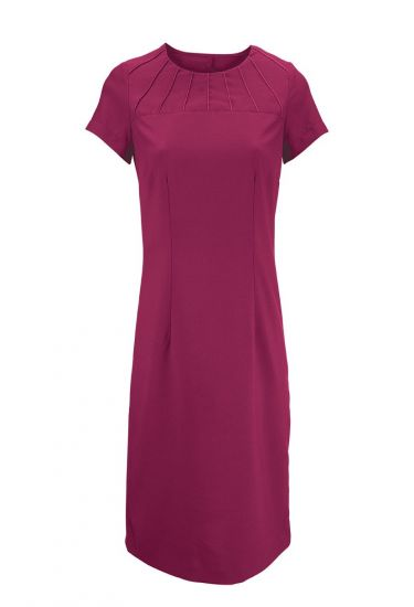 Women's satin trim dress