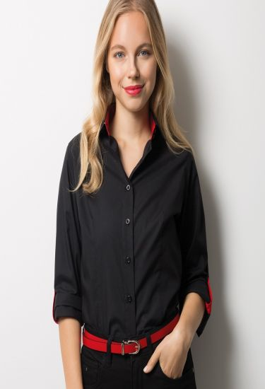 Women's roll up sleeve shirt