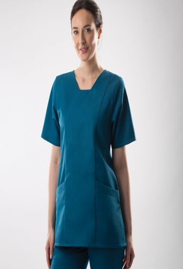 Women's smart scrub tunic (FT 503)